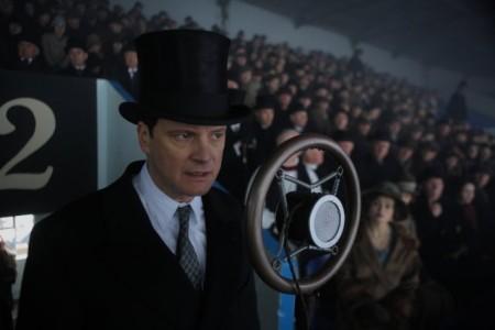 """Кадр из фильма """"Король говорит!"""", реж. Том Хупер"""