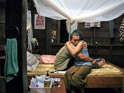 """Кадр из фильма """"Дядюшка Бунми, который помнит свои прошлые жизни"""", реж. Апичатпон Вирасетакун"""