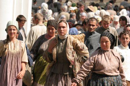 """Кадр из фильма """"Жила-была одна баба"""", реж. Андрей Смирнов"""