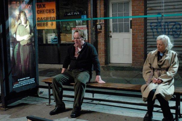"""Кадр из фильма """"Нью-Йорк, Нью-Йорк"""", реж. Чарли Кауфман"""