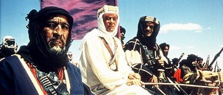 """Кадр из фильма """"Лоуренс Аравийский"""", реж. Дэвид Лин"""