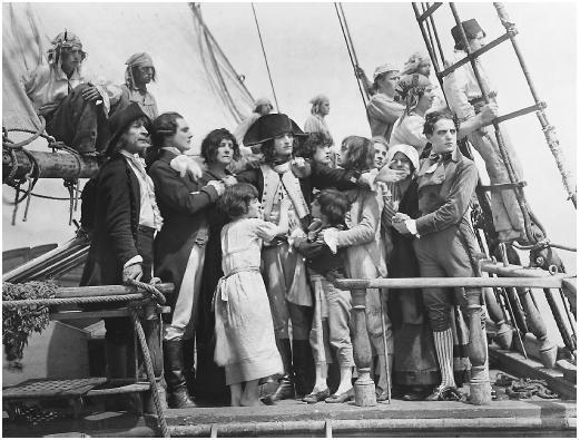 """Кадр из фильма """"Наполеон"""", реж.Абель Ганс"""