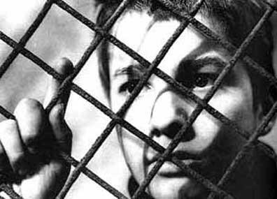 """Кадр из фильма """"400 ударов"""", реж. Франсуа Трюффо"""