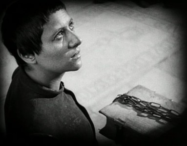 "Кадр из фильма ""Страсти Жанны Д'Арк"", реж. Карл Дрейер"