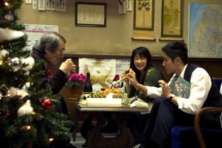 "Кадр из фильма ""Ушедшие"", реж. Ёдзиро Такита"