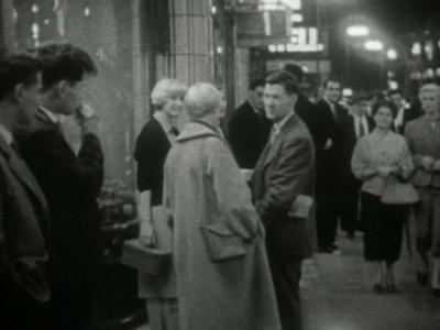 """Кадр из фильма """"Хорошо проведенное время"""", реж. Ален Таннер, Клод Горетта"""
