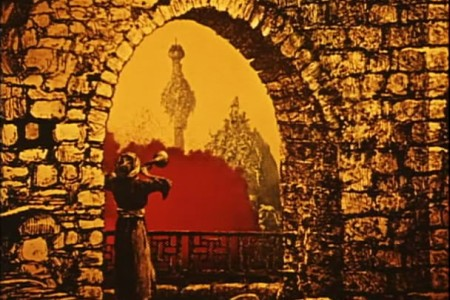 "Кадр из фильма ""Барон Мюнхгаузен"", реж. Карел Земан"