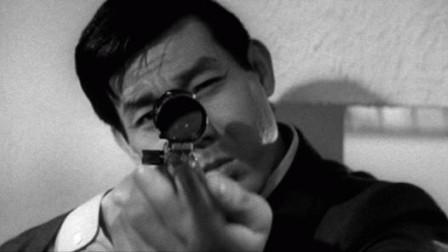 """Кадр из фильма """"Мой пистолет- мой паспорт"""", реж. Такаши Номура"""