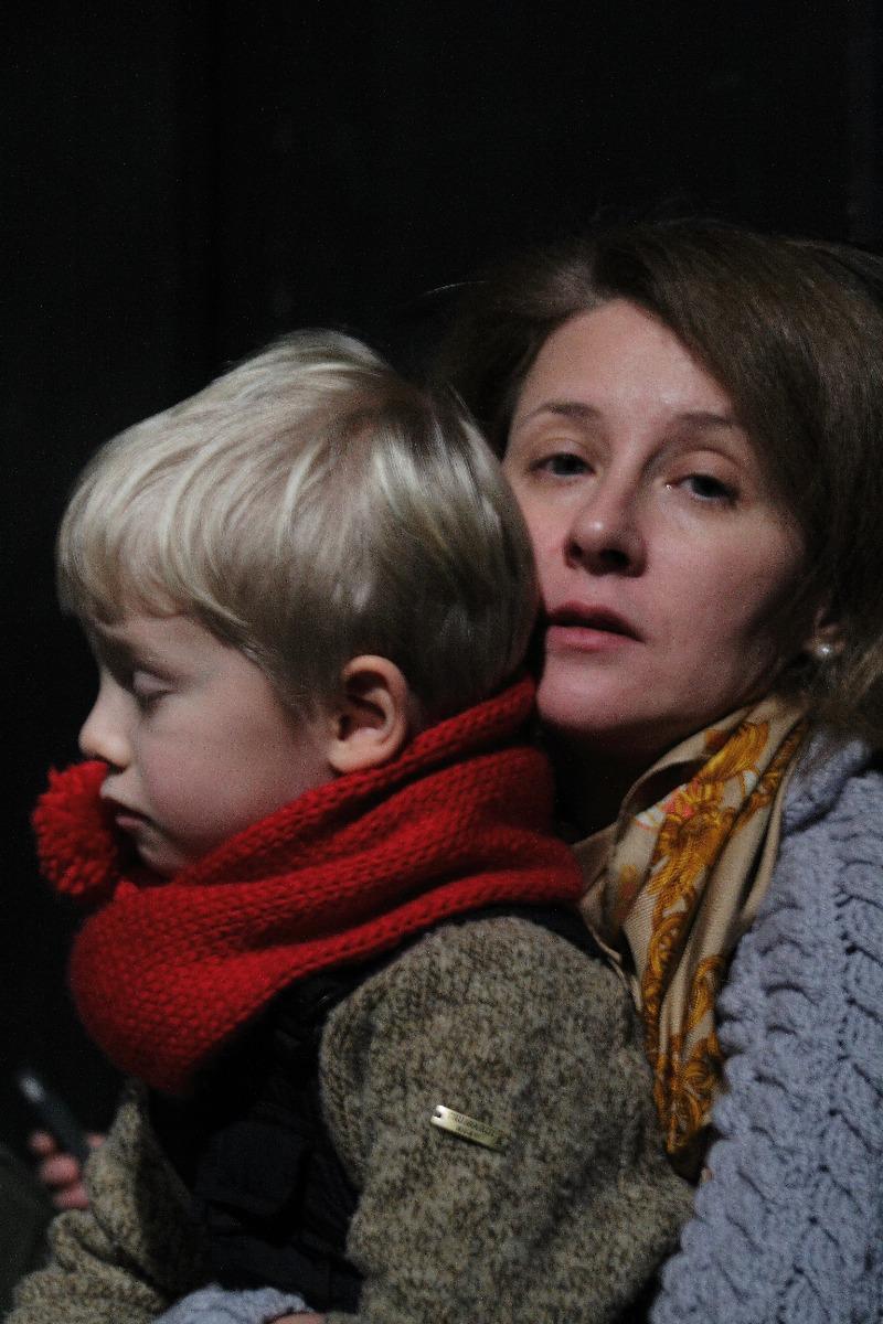 Анна Булгакова с сыном Петром Коснсовским-Вершининым
