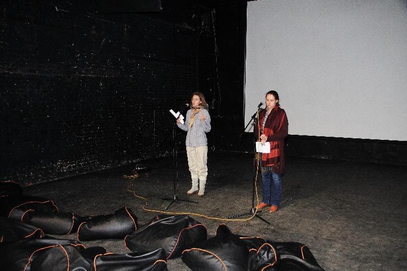 Кураторы из Музея кино: Анна Булгакова и Анна Кукес
