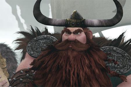 """Кадр из мультфильма """"Как приручить дракона"""", реж. Крис Сандерс"""