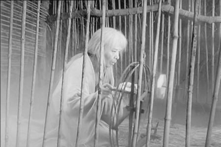 "Кадр из фильма ""Трон крови"", реж. Акира Куросава"