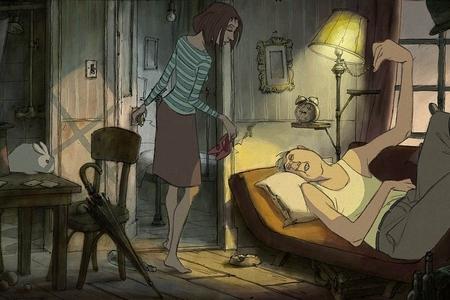 "Кадр из фильма ""Иллюзионист"", реж. Сильвен Шоме"